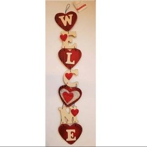 3 for 30 Ashland Wall Decor Welcome with Hearts